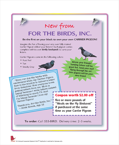New From For the Birds Inc.