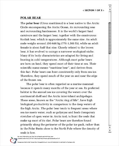 persuasive essay on polar bears Save the polar bear combat global warming-persuasive writing essay/article  english, persuasive writing tagged with: essay, polar bear essay, save polar bear.