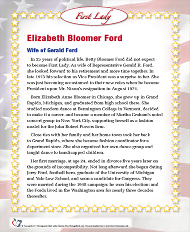 Elizabeth Bloomer Ford