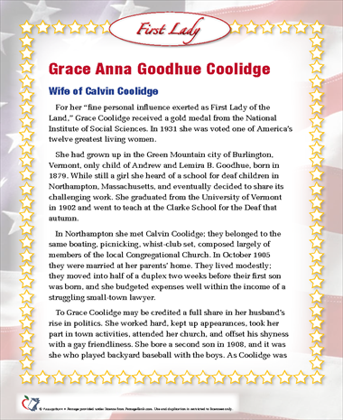 Grace Anna Goodhue Coolidge