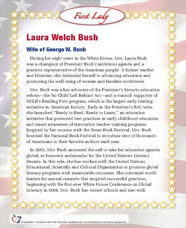 Laura Welch Bush