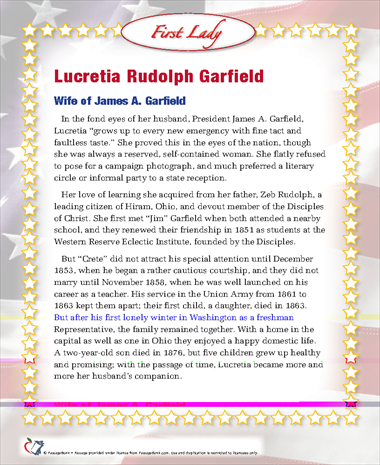 Lucretia Rudolph Garfield