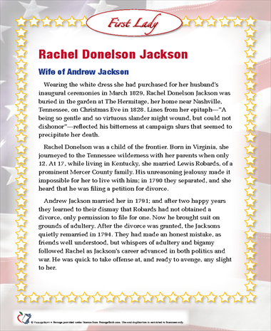Rachel Donelson Jackson
