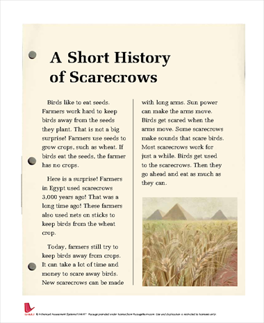 A Short History of Scarecrows
