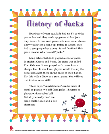 History of Jacks