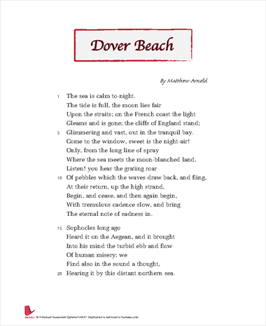 Descriptive Poem About the Beach