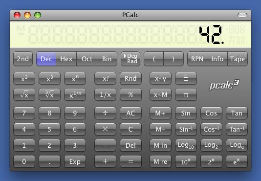 PCalc