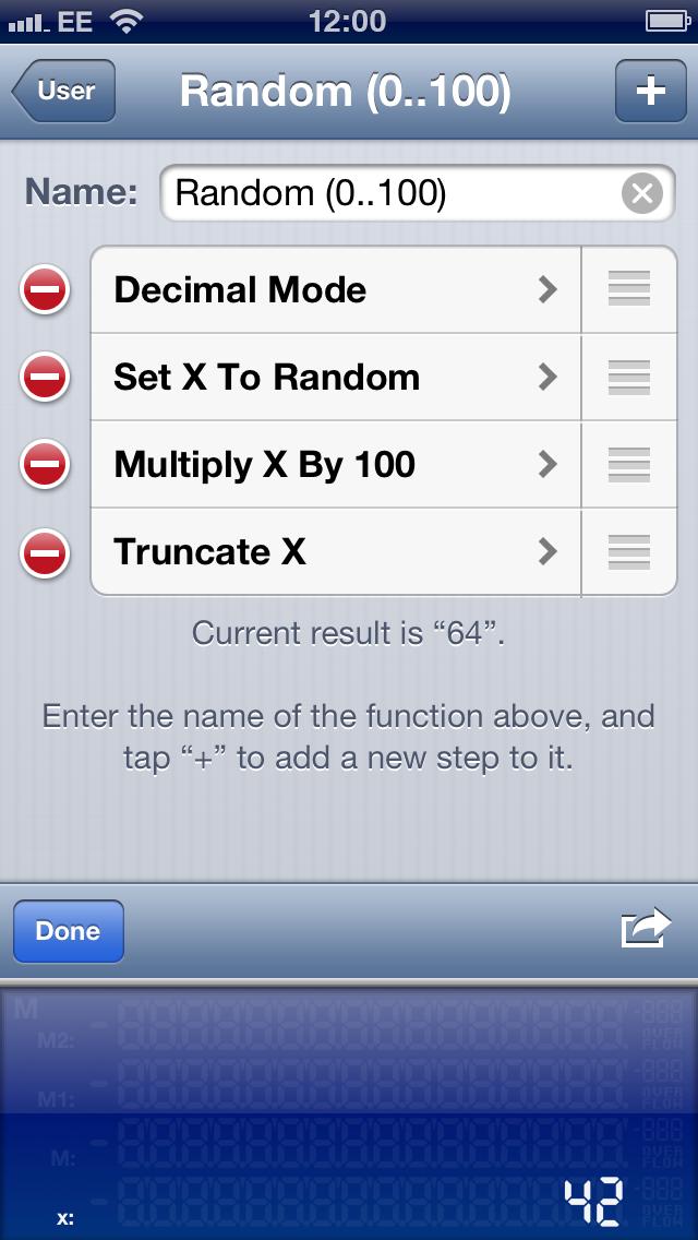 User Function