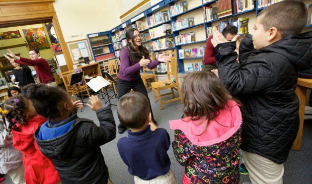 Dali Quartet at Free Library