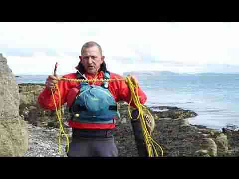 Tow lines for sea kayaking with Olly Sanders
