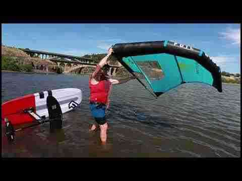 Dan Gavere Foil Wing How to Get Going with the Hydrofoil
