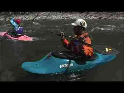 EJ's River Running Basics- The Whitewater Kayak Peel Out, Eddy Out, and Ferry