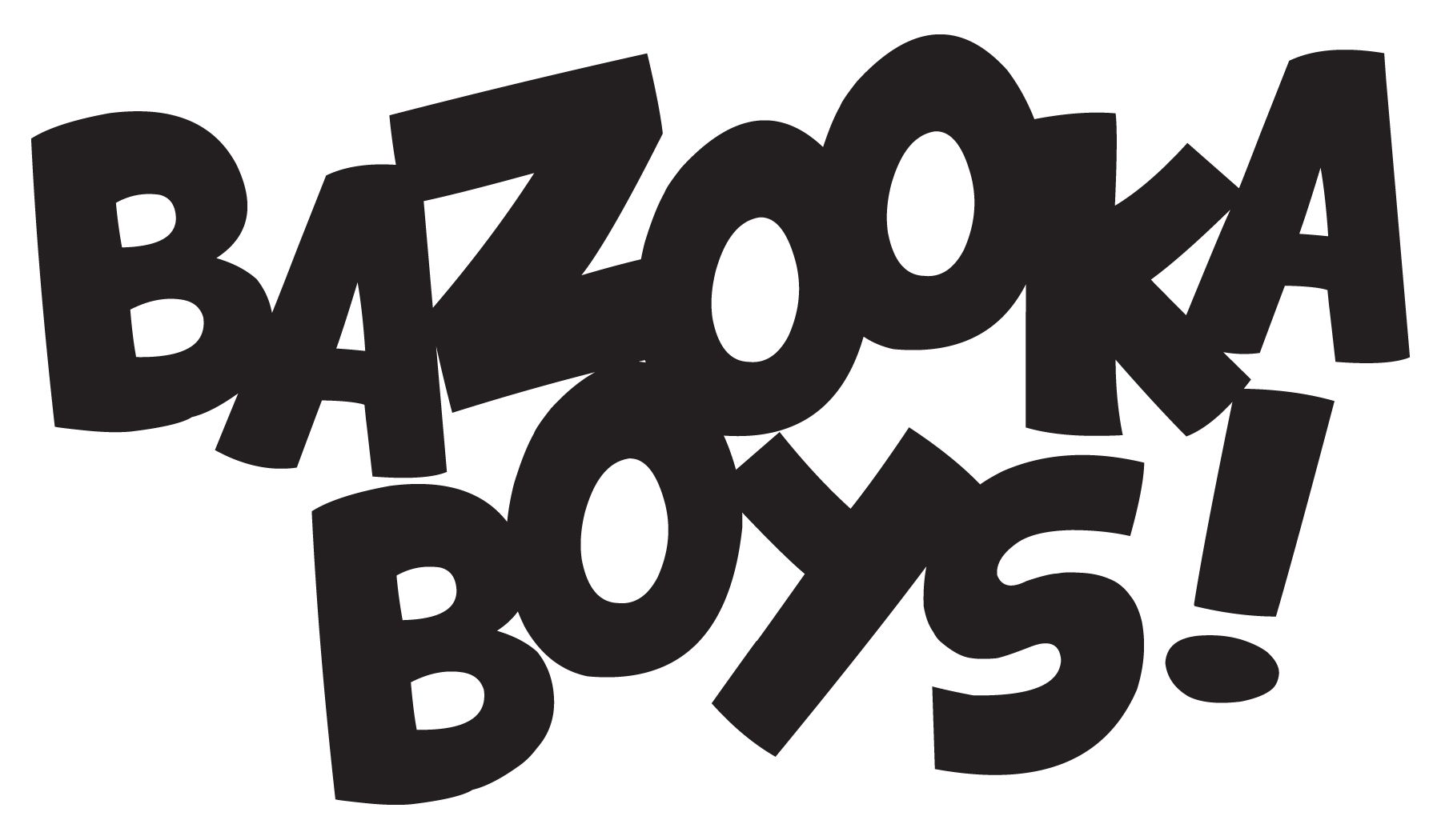 Bazooka Boys Logo Text Only