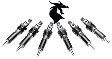 Industrial Injection Race 3 Dragon Fly Injectors for 1994
