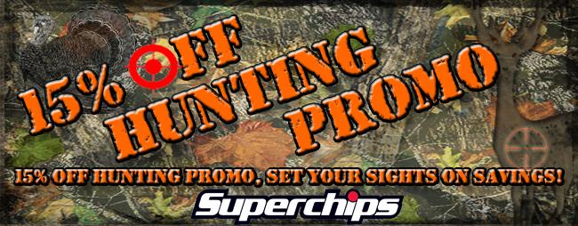 Hunting Season 2012 SuperChips Tuners Sale - Parleys Diesel
