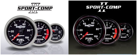 Auto Meter Sport Comp II Mechanical Boost Gauge 0-60 PSI 3605