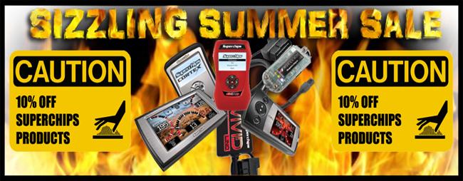 Superchips Diesel Tuner Summer Sale - Parleys Diesel Performance