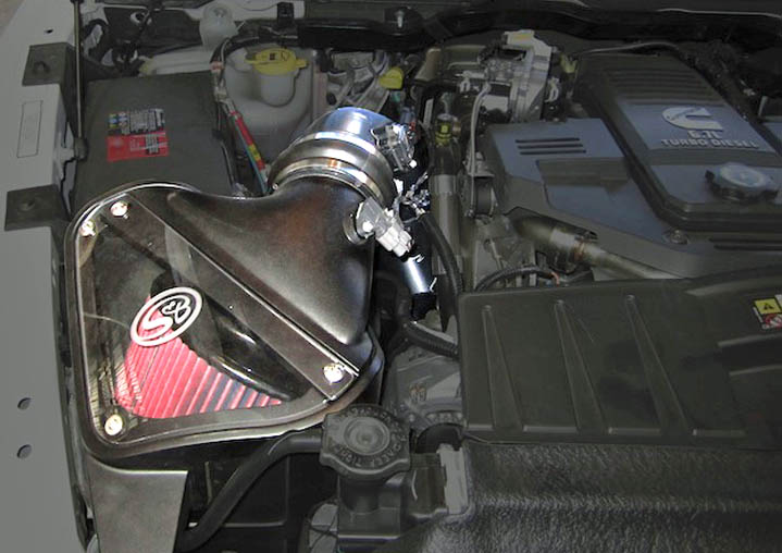 S Amp B Cold Air Intake For 2010 2012 Ram 6 7l Cummins 75 5057