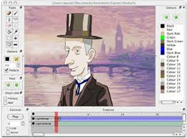 cartoon character software mac