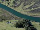 Vista aérea del Arroyo Valizas
