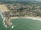 Vista aérea de Punta del Diablo