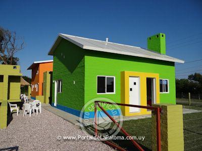 Casa Las Casas de Colores - 4ps La Paloma