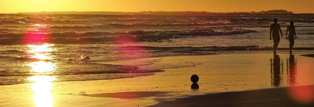 Atardecer en Playa Anaconda