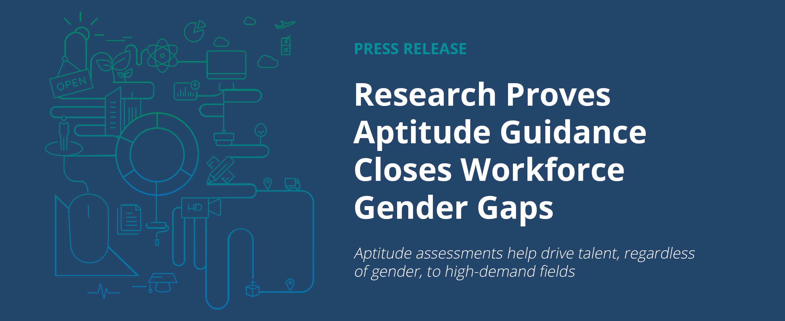 Research Proves Aptitude Guidance Closes Workforce Gender Gaps