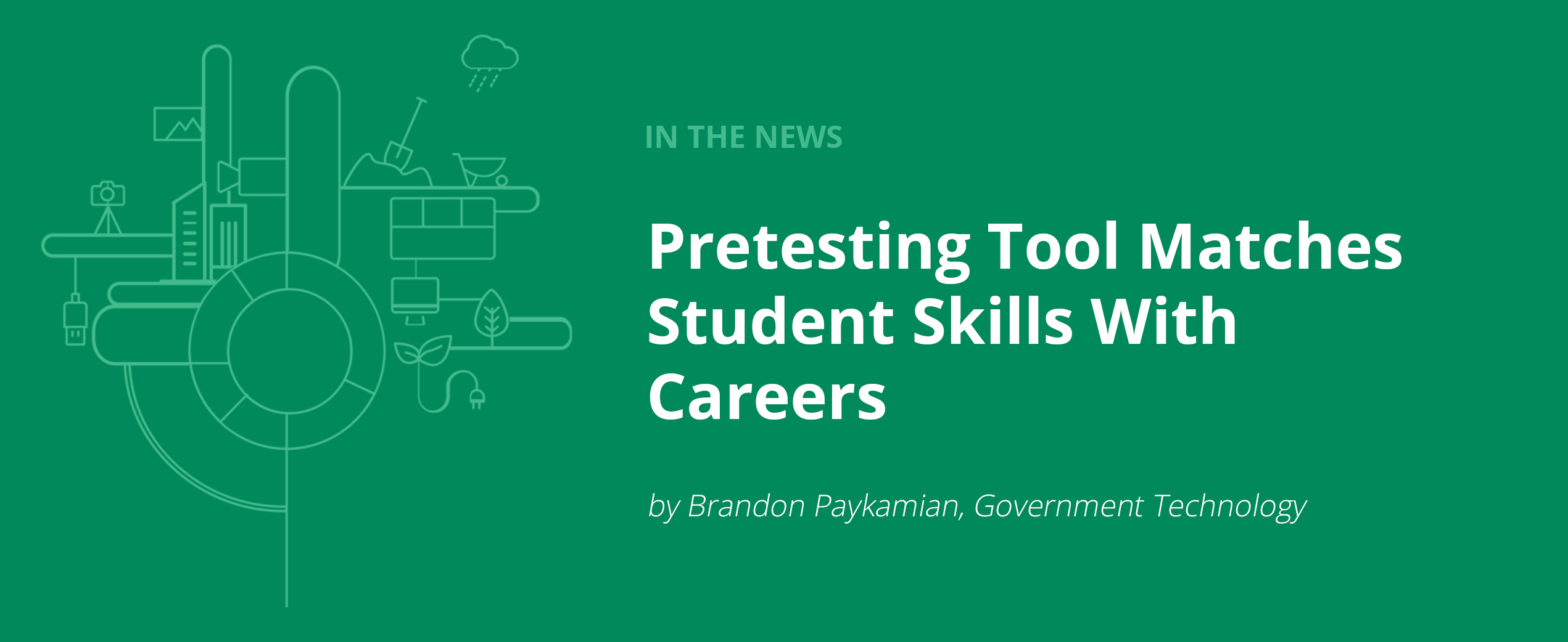 Pretesting Tool Matches Student Skills With Careers