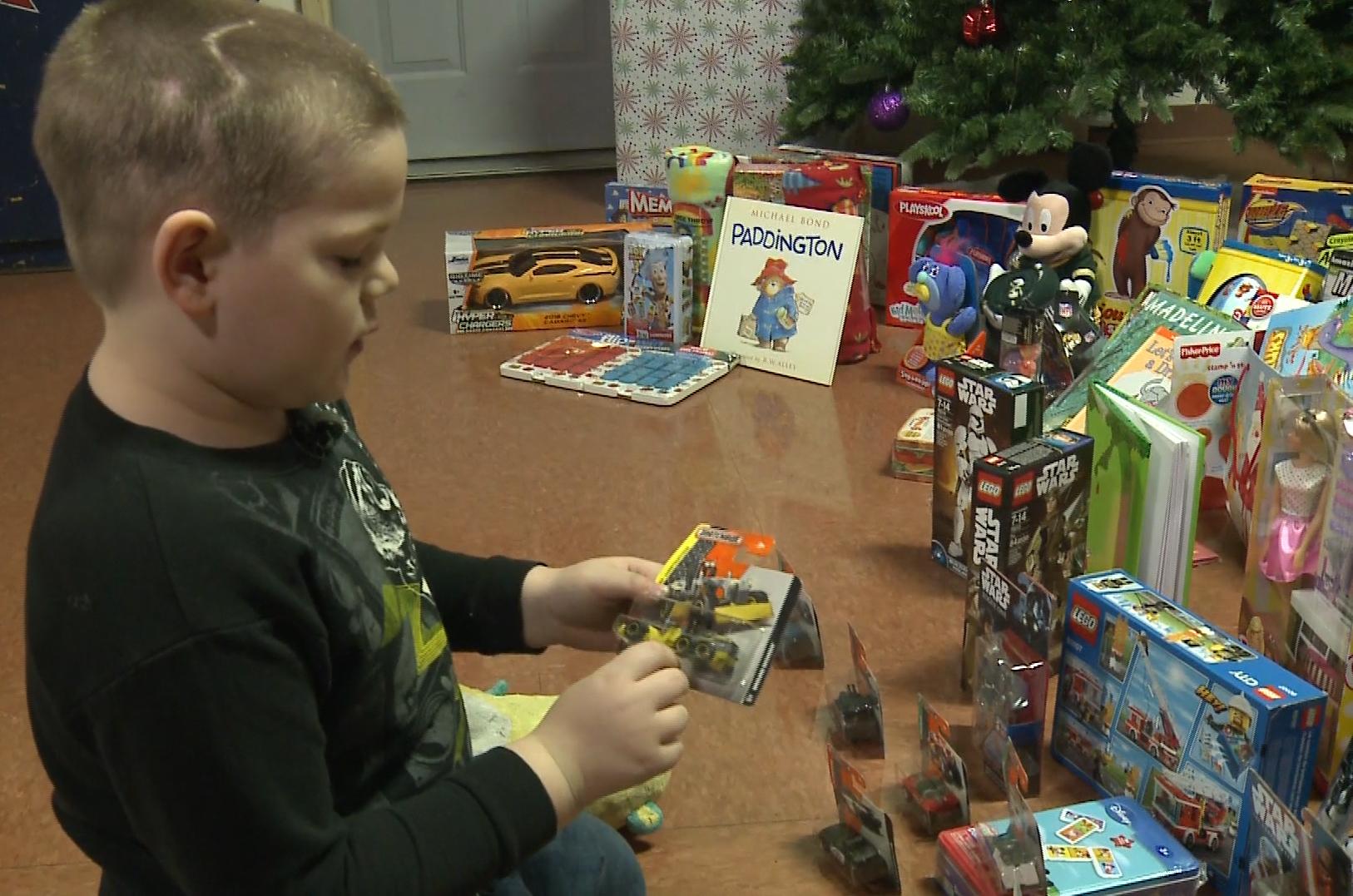 Cody Strubel Runs Holiday Toy Drive