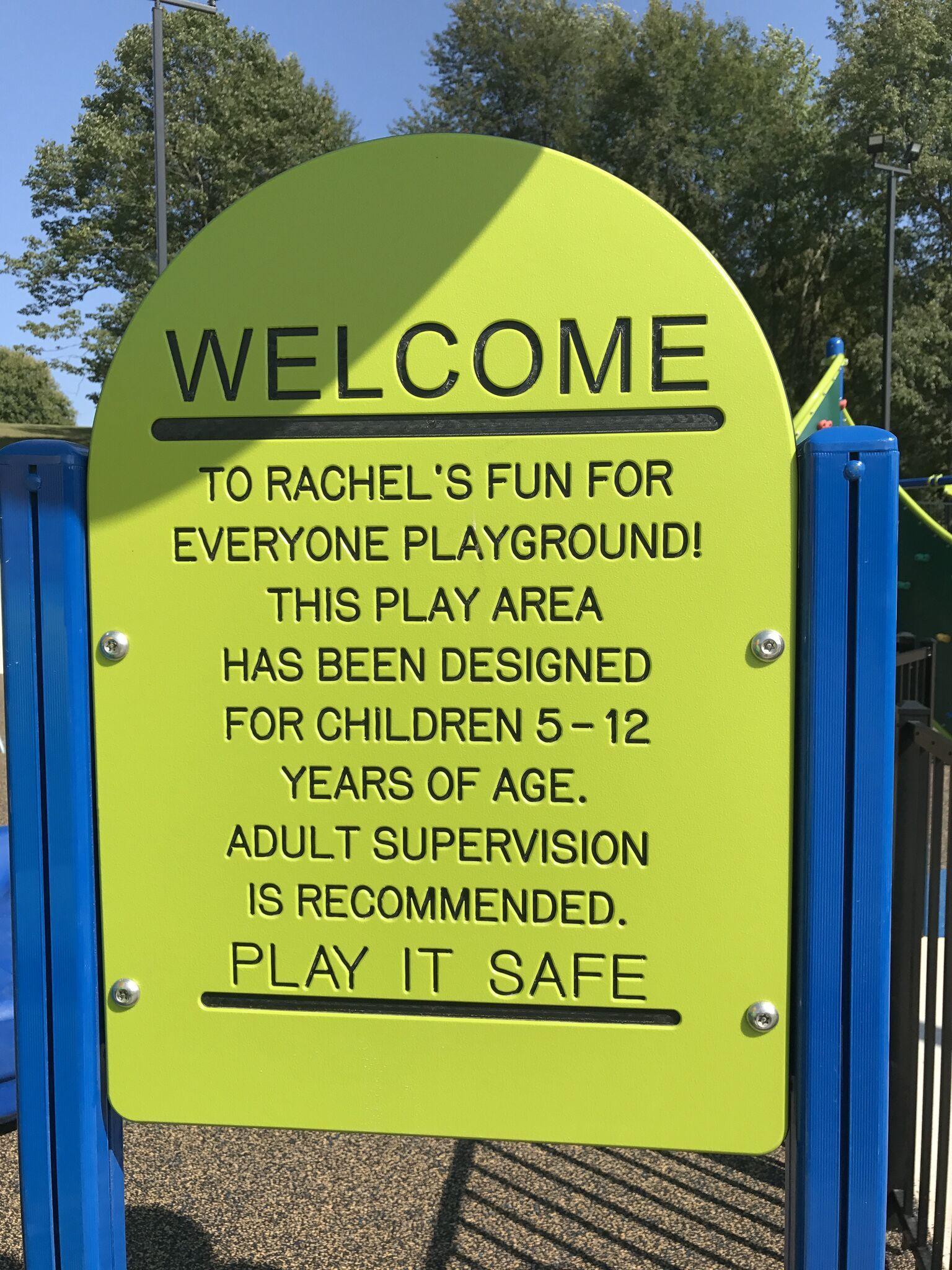Rachel Ritchie's Fun for Everyone Playground