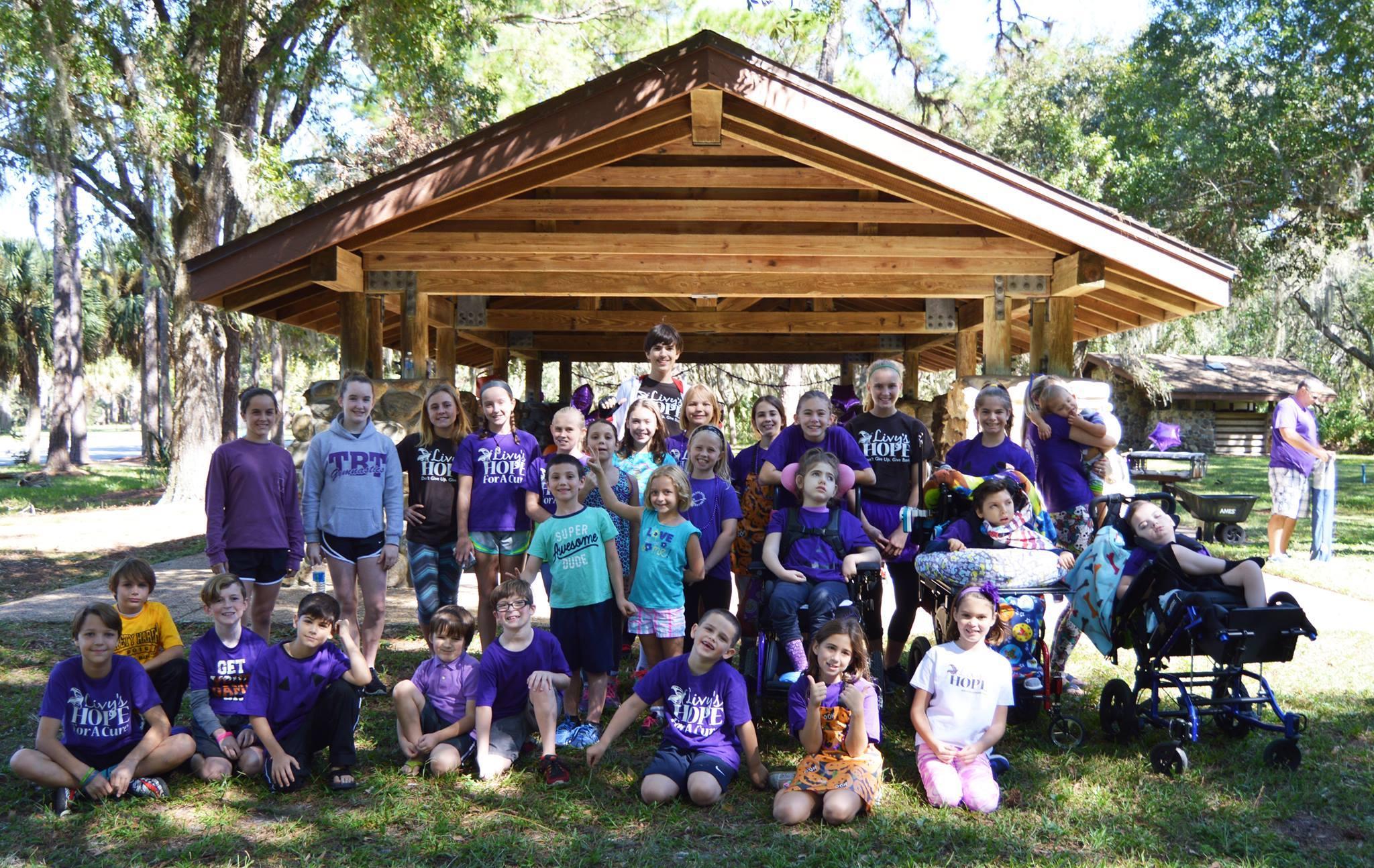 Livy's Hope Purple Pumpkin Project