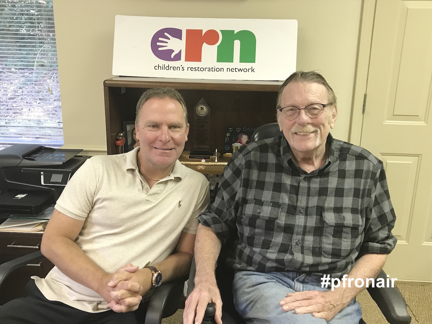 Cliff Kinsey and Jim Cox