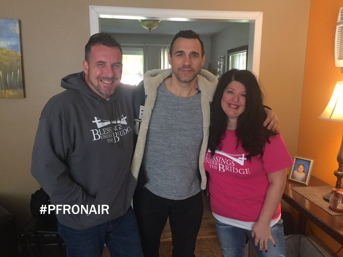 Adrian with Mike and Jessica Kovac