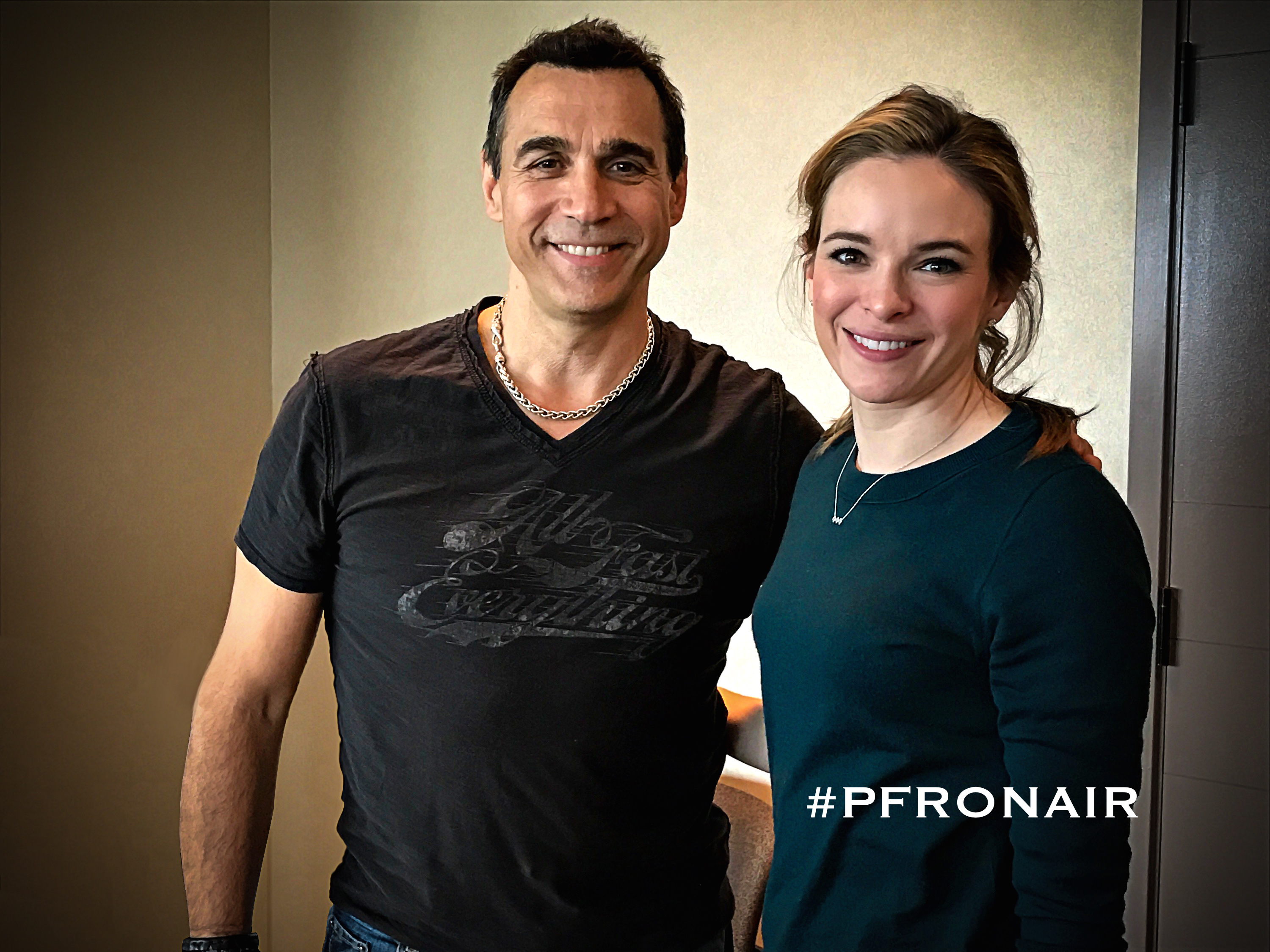 Adrian and Danielle Panabaker