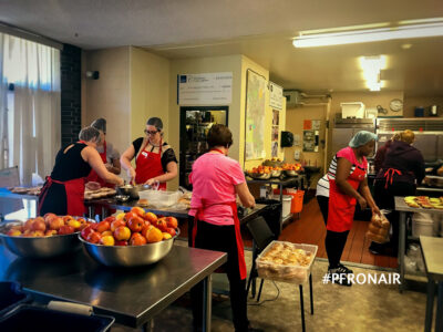 Inside the Kitchen of Brown Bagging