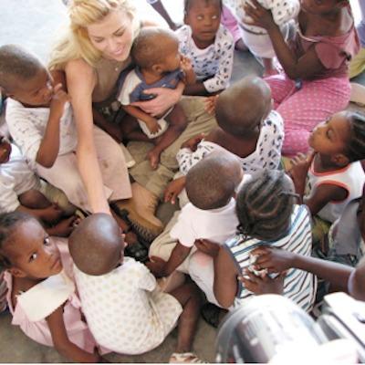 Susie Krabacher at HaitiChildren Village