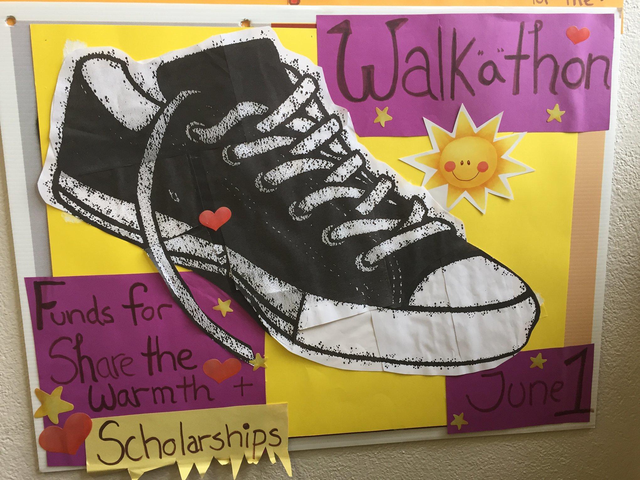 Share the Warmth Walkathon