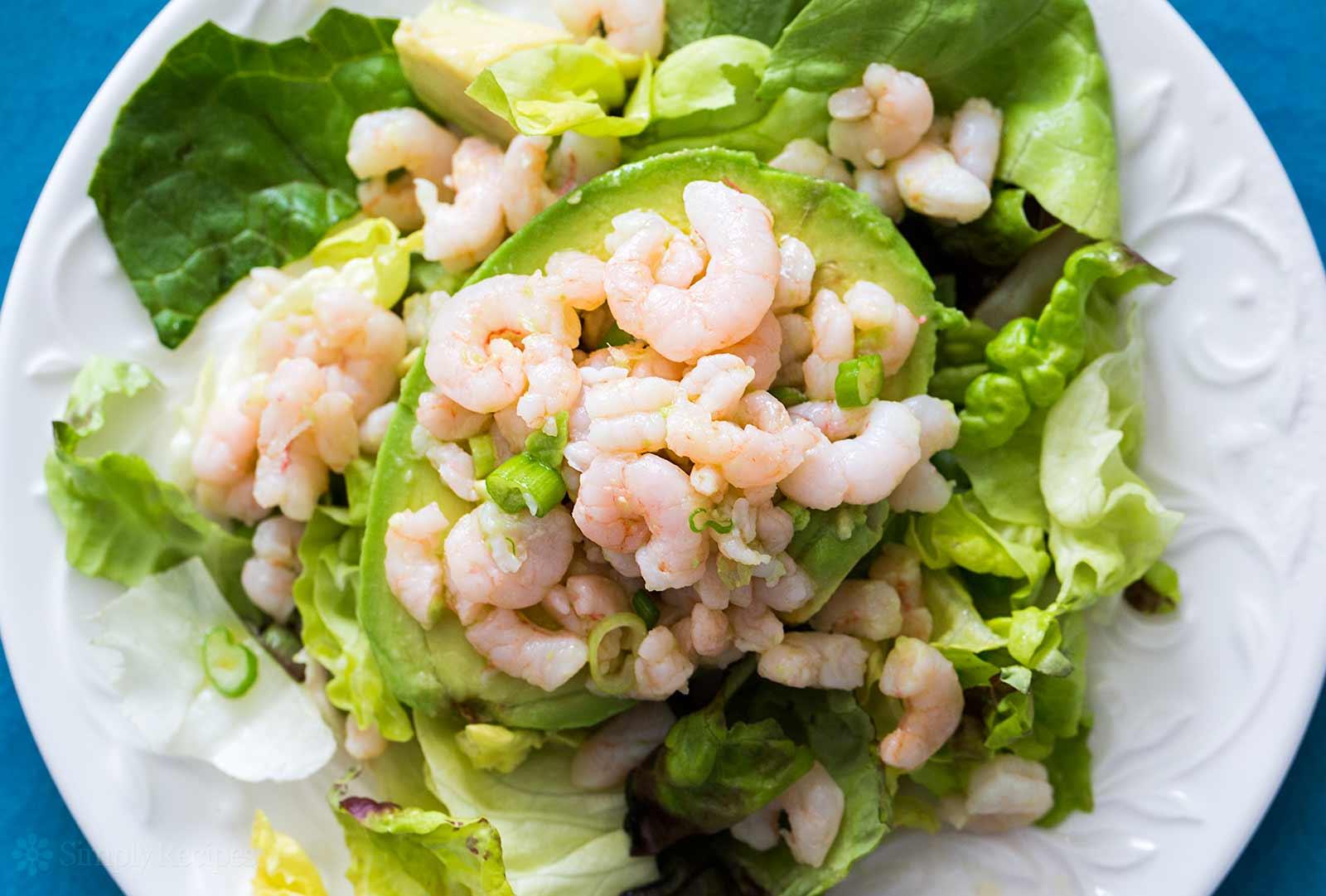Bay Shrimp and Avocado Salad
