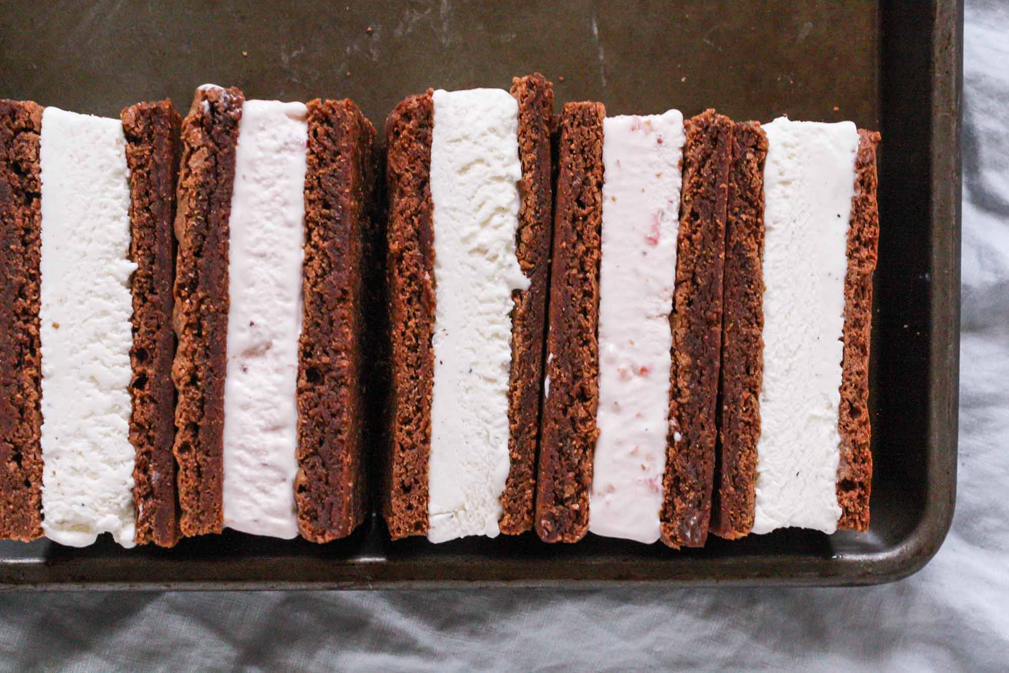 Classic Ice Cream Sandwiches