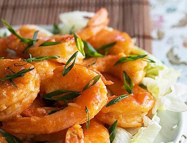 Happy Shrimp Stir Fry