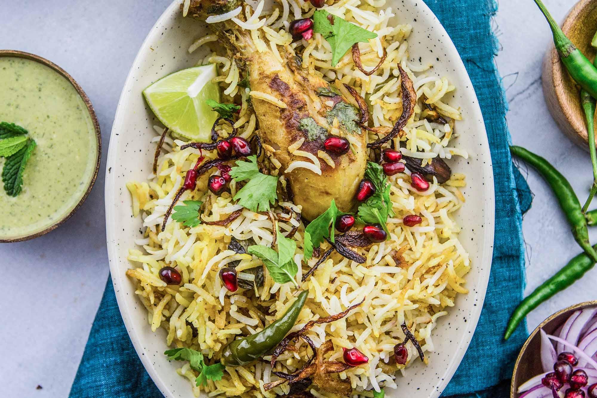Indian Chicken Biryani