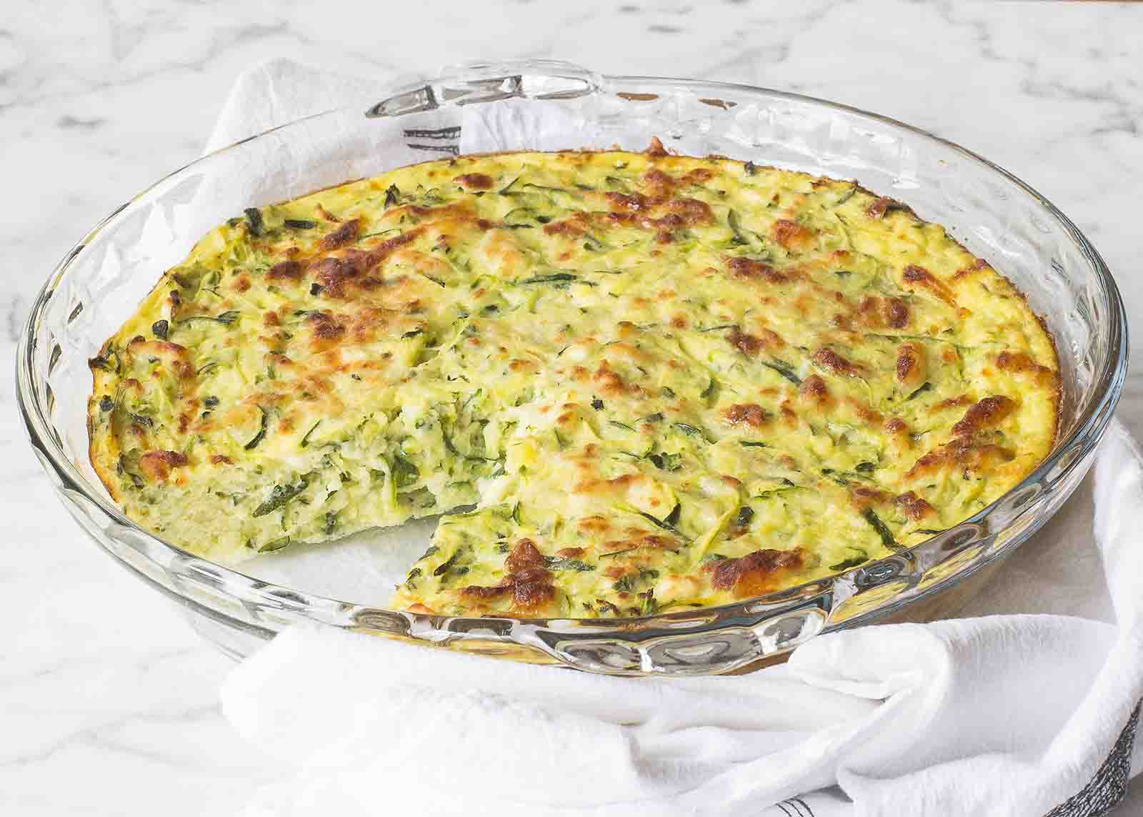 Zucchini-Feta Frittata
