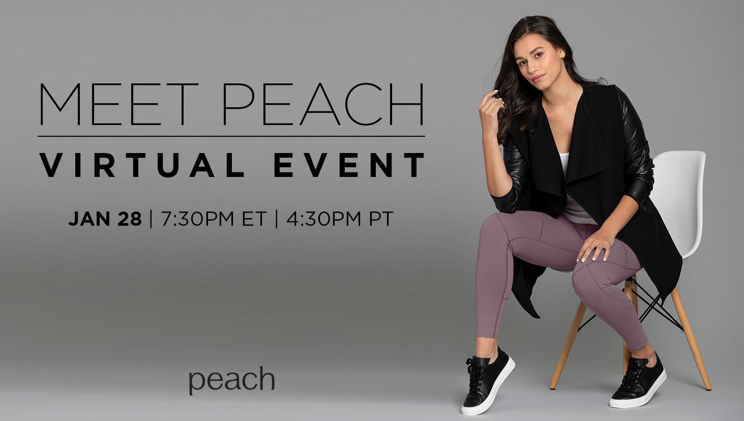 Event images meet peach