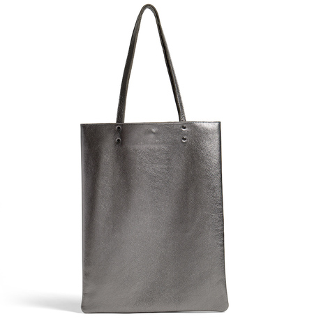Everywear tote metallic leah lerner 900x900 front