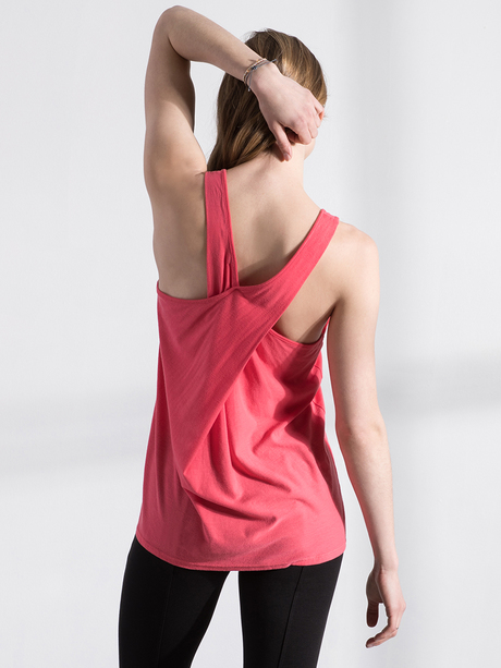 Chase tank pink ruby back