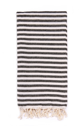 licorice beach candy towel