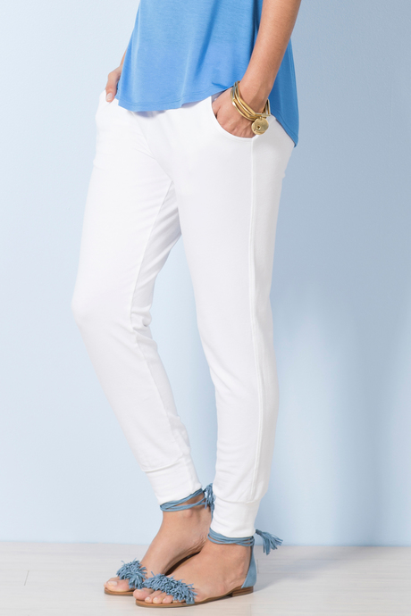 Jogger white front