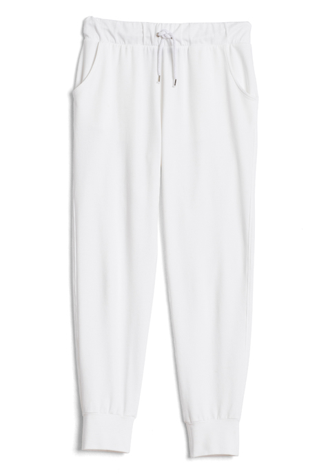 Jogger white laydown