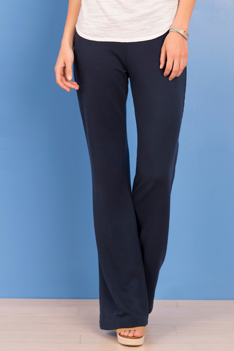 Katherine flare navy front